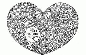 Free Printable Heart Coloring Pages Fresh Best Free Santa Coloring