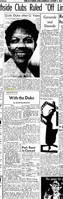 ellington on the web i ain t got nothin but the links ellington writes in the 1 1942 edition of the baltimore afro american about performing for the royal family ordering hamburgers in hamburg and the