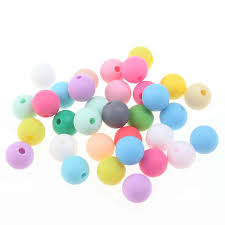 Detail Feedback Questions about 100pcs Teething Silicone <b>Beads</b> ...