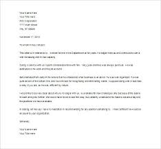 Employee Reference Letter Examples Recommendation Letter For