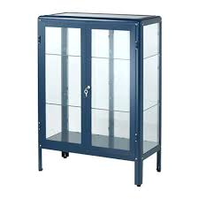 glass door cabinet ikea display case lock