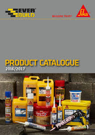 Sikagard 62 Color Chart Sika Everbuild Product Catalogue 2016 2017 By Sika Everbuild
