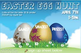Diy Easter Egg Hunt Flyers Design Studio
