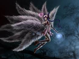 2560x1440 League Of Legends Ahri Art ...