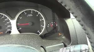 Chevy Equinox oil life reset - YouTube