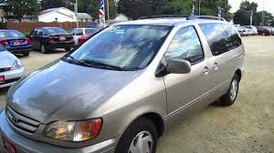 2002 TOYOTA SIENNA MINIVAN OVERVIEW, Start up, Walk around tour ...