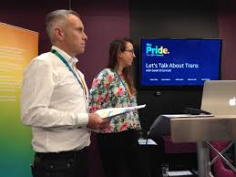 lets talk about trans with itv pride our colleagues in manchester heard from a great panel of speakers about their personal stories and