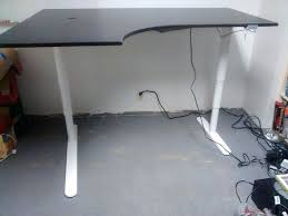 corner desk with extension bekant