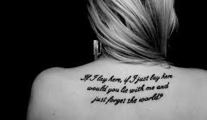 Tetování Citáty