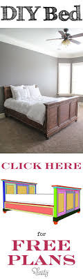 diy bedroom furniture plans. Easy To Follow Tutorial And FREE Printable Plans At Www.shanty-2-chic.com Diy Bedroom Furniture P