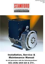installation service maintenance manual pdf maintenance manual for ac generators