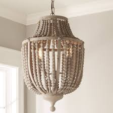 wood bead chandelier new classic shades of light within plans 15 pertaining to