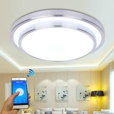 2018 jiawen led wifi wireless ceiling lights 15w aluminum acryl indoor smart lighting with app remote control ac 100 240v from burty 82 07 dhgate com