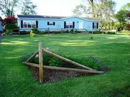 Image result for Split Rail Corner Fence Landscaping Ideas