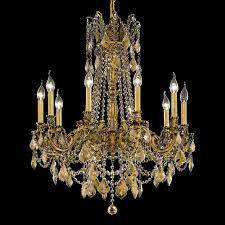 elegant 9210d28fg gt rc rosalia 33 nbsp large golden teak crystal chandelier in french loading zoom