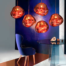 tom dixon melt mini pendant copper