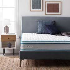 white bedroom furniture. Perfect Furniture 9 In Queen Innerspring Mattress And White Bedroom Furniture O