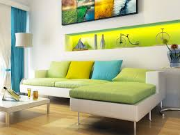 Yellow Wall Living Room Decor Living Room Apartment Decor Idolza