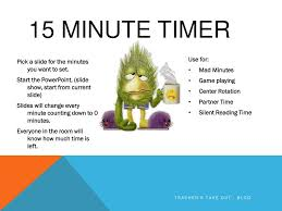 3 minute timer for powerpoint ppt 15 minute timer powerpoint presentation id 2490987