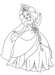princess tiana coloring page cool coloring pages princess coloring pages post princess coloring pages free