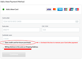 What cards can be linked. How Do I Edit Or Remove My Credit Card Information Iherb