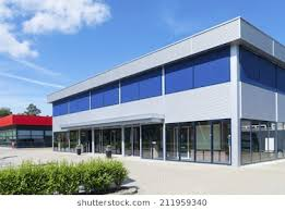 exterior office. Exterior Of A Modern Small Office Building R