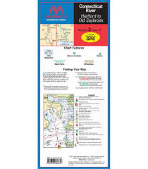 Maptech Waterproof Chart Wpc002 Connecticut River 7th Edition 2011