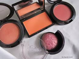so i have mac blush style sleek life s a peach mac sheertone blush peachykeen and in color baked blush eyeshadow with me