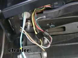 trailer wiring harness installation 2007 gmc canyon etrailer trailer wiring harness installation 2007 gmc canyon etrailer com