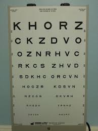 Eye Chart Actual Size Foap Com Snellen Chart Images Pictures And Stock Photos