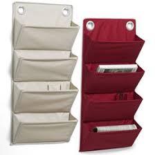 Fabric Magazine Holder Fabric WallMounted Magazine Rack Shop homeorganizingcleaning 3