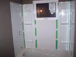 replace bathtub with shower stall how to replace a shower stall remove bathtub install shower stall install bathroom shower stall installing change bathtub