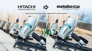 tools to bee metabo hpt nail gun