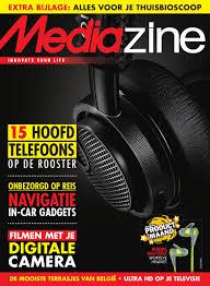 Mediazine België Juni 2015