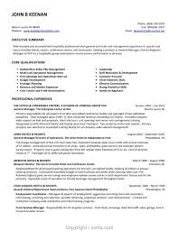 Free Fast Food Restaurant Manager Resume Restaurant Manager Resume