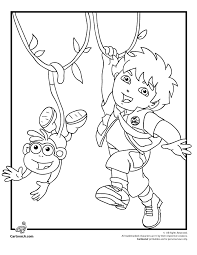 Small Picture Free Diego Coloring Pages Coloring Home