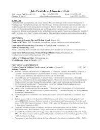 Biology Resume Examples Molecular Biologist Resume Examples Dadajius 4