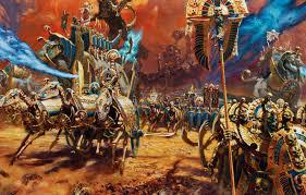 wallpaper skeleton total warhammer ii