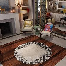 perfect how to clean cowhide rug awesome zrxian rugs round leather rug luxury villas cowhide