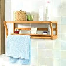 towel storage rack. Exotic Wall Mounted Towel Racks For Bathrooms Bathroom Storage Bamboo Wooden . Rack H