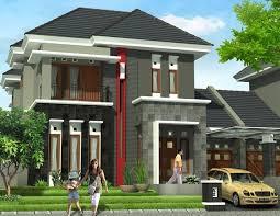 model rumah modern minimalis 2 lantai desain rumah pinterest