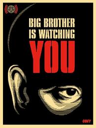 Buy Shepard Fairey - Big Brother Is ...