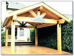 free standing patio cover diy. Wonderful Diy Wooden Patio Roof How To Build A Wood Cover Free Standing  Best Of With Free Standing Patio Cover Diy V