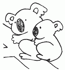 Small Picture Coloring Pages Engaging Koalas Coloring Pages Koala Art
