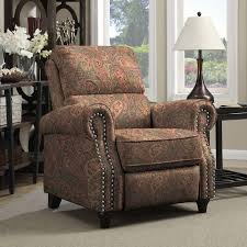 high back living room chairs discount. paisley recliner chair push back traditional comfortable seat durable furniture. chairs for living roomliving high room discount