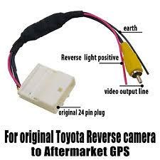 reverse car audio & video wire harnesses ebay hilux reverse camera wiring diagram video harness cable for original toyota reverse camera to aftermarket gps rca oz