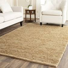 5 x 5 rug. Safavieh Hand-knotted Vegetable Dye Chunky Beige Hemp Rug - 2\u0027 X 5 I