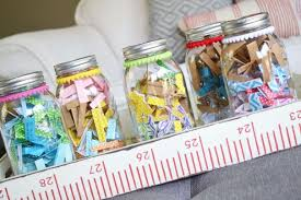 How To Decorate Canning Jars Family Conversation Jars craft Little Miss Momma 47
