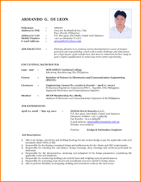 Updated Resume Templates Magnificent Updated Resume Format 48 Elegant 48 Latest Cv Templates 48