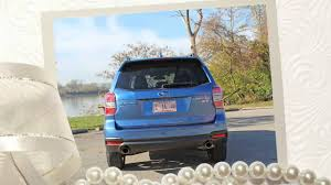 2016 Subaru Forester, The 2.0XT model-have 250 horsepower - YouTube